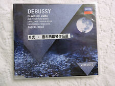 Debussy Clair de Lune & Other Piano Works - Pascal Roge - Decca Import