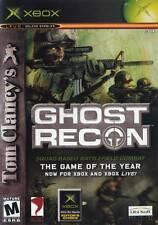 Microsoft XBOX Tom Clancy's Ghost Recon (PLATINUM HITS VERSION & COMPLETE)