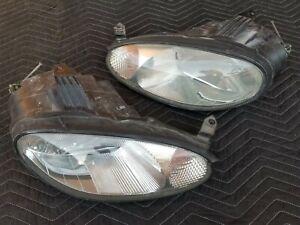 Mazda Miata NB '99-2000 Halogen LH + RH Headlight Set- *RESTORED* -10yr Guaranty