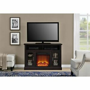 "Ameriwood Home Chicago Electric Fireplace TV Console for TVs up to a 50"" Multipl"