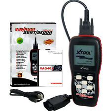XTOOL VAG401 For VW AUDI SKODA SEAT OBD2 Service Light OFF SRS Reset Code Reader