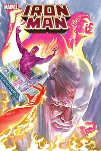 IRON MAN #9 PRE-ORDER FOR EARLYJUNE BP