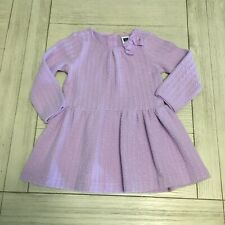 Janie & Jack Baby Girl 6-12 months Purple Lilac sweater dress