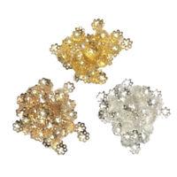 900 pcs Filigrane Perlkappen Perlenkappen Metall Spacer Zwischenperlen