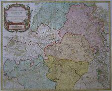 Champagne - Partie Septentrionale du Gouvernem General de C. - Vaugondy - 1752