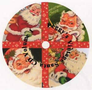 Vintage Christmas Santa Cards CD V. 1