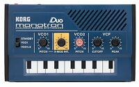 Korg MONOTRONDUO 0-Key Dual Oscillator Analog Pocket Synthesizer New