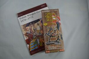 Andrea Miniatures 54mm1670's Polish Winged Hussar (started) and Osprey Book WOW!