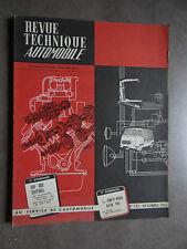 REVUE TECHNIQUE AUTOMOBILE RTA DAF 600 SALON 1965