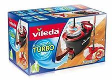EX VILEDA TURBO EasyWring &Clean Komplettset ,Wischmop mit Eimer  Powerschleuder