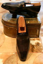 Berluti Aubergine Loafers - UK 8