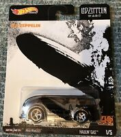 Hot Wheels Led Zeppelin Series -  Blimp HAULIN' GAS  w/ Real Riders