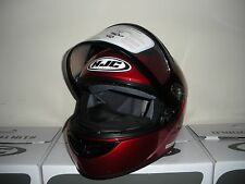 HJC CS-R3 Snowmobile Helmet Candy Red XXL 2XL 2X Snow Sled CSR3 CS-R3SN SN