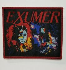 Exumer Red Border WOVEN PATCH