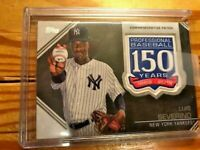 2019 Topps Luis Serverino 150th Anniversary Commemorative Patch MINT FROM PACK