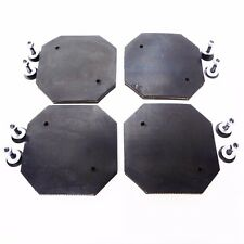 Heavy Duty Rubber Arm Pads for Eagle Lift & Gemini Lift Set of 4 for auto hoist