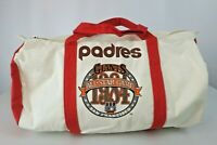 1984 SAN DIEGO PADRES DUFFEL TOTE BAG ALL-STAR GAME SF BRAND NEW SGA RARE!!!