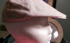 Stetson All American khaki Newsboy Hat Cabbie Golf Cap  Linen  S/M