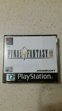 Final fantasy IX 9 PLAYSTATION PS1 PAL ITA COMPLETO OTTIMO