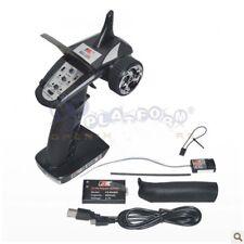 US Flysky FS-GT2B 2.4G 3CH Transmitter + Receiver Radio Control for RC Car Boat