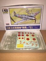 "Arii Kit di Montaggio 1:48 KAWASAKI Ki61 ""Hien"" ( Tony ) MIB Made in Japan"