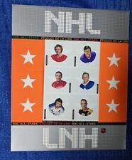 NHL CANADA POST 2004 NHL ALL-STARS COMMEMORATIVE STAMP SET