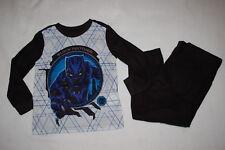 3c1cce33de Boys L/S Pajamas Set BLACK PANTHER Flannel MARVEL Superhero L 10-12