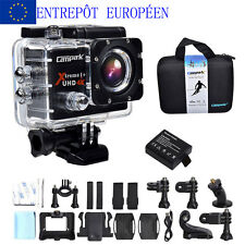 HD ACT74 Campark Action Camera Cam 4K 25fps WiFi Caméra Action Action Waterproof