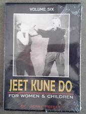 NEW! Jeet Kune Do For Women & Children DVD - Vol 6 - Jerry Poteet - Self-Defense