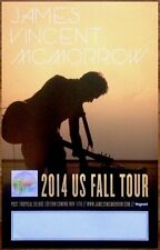 JAMES VINCENT MCMORROW Post Tropical Ltd Ed RARE Tour Poster +FREE Indie Poster!