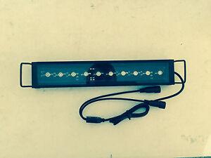 """Aquarium LED Light Bar 10"""" ReefBar Pro 50/50 Blue/12k 10x 3W Bridgelux 5 10 gal"""