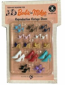 Vintage REPRO BARBIE & MIDGE Shoes Sold BuY the Pair You Choose NEW REPRODUCTION
