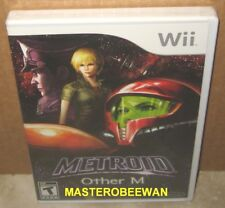Metroid: Other M (Nintendo Wii, 2010) & Wii U New Sealed