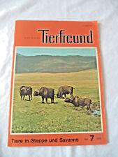 Der kleine Tierfreund - Heft 7 Juli 1974
