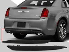 Euro Smoke Lens Rear Bumper Reflectors Pair Hemi C S For 2015 2018 Chrysler 300