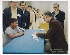 ORIGINAL PHOTOGRAPH OF STAN LEE - BOSTON MASS - 1974 - ORIGINS OF MARVEL COMICS