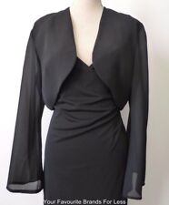 LOVER'S - NEW  Made In Australia Size 14 US 10  Black Bell Sleeve Bolero Jacket