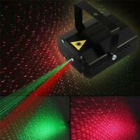Stage Light Mini Laser Light LED Projector Strobe Sound Activated For Club DJ