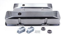 Racing Power Co R6152 Aluminum Tall Valve Covers Fits Small Block Chevy
