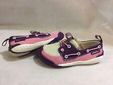 Merrell Vibram Athletics Girls Shoes, White/Pink, Size 10, UK 9, Eur 28