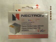 New Nectron Epson Ink Cartridge Stylus color 440 640 660 740 SO20191 New Old Sto