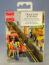 HO Scale Busch 1493 Set of German Warning Markers NIB