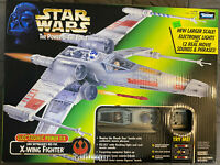 STAR WARS LUKE SKYWALKER'S RED FIVE X-WING FIGHTER ELECTRONIC POWER OF THE FORCE
