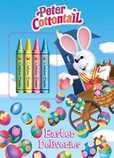 Easter Deliveries Peter Cottontail Color Plus Chunky Crayons