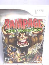Rampage Total Destruction (Nintendo Wii 2006)