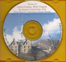 Lewis County WV History - VA & WV genealogy +BONUS