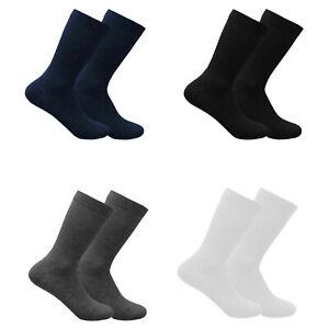Kids Boys Girls Plain Ankle Socks Children Everyday Cotton Rich School Uniform