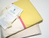 Pottery Barn Kids Multi Colors Pink Yellow Preppy Border Twin Duvet Cover New