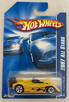 2007 Hotwheels Ferrari 333 SP Yellow! Very Rare! Mint! MOC!