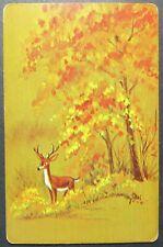 1 Single VINTAGE Swap//Playing Card USNN LANDSCAPE TREES SHEEP /'DAWN DA-7-1-A/'